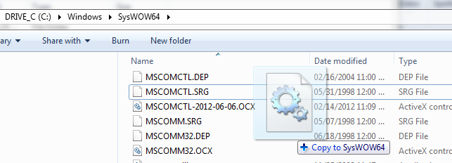August 14, 2012 MSComCtl OCX security update problems